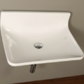 "4500p 120x120 - 25.5""  Lacava Block Wall Mount Sink"