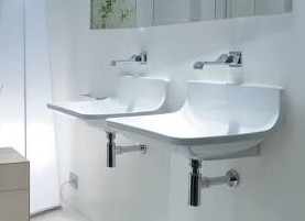 "4500pa - 25.5""  Lacava Block Wall Mount Sink"