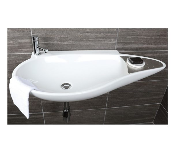 "4602 600x549 - 38.5""  Lacava Ovale Wall Mount Sink"