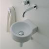 "5059 100x100 - 11"" Lacava Twin Set Wall Mount Sink  5059"