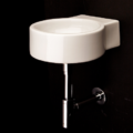 "5059b 120x120 - 10 7/8""  Lacava Twin Set Wall Mount Sink"