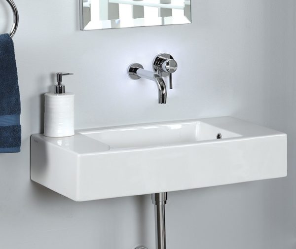 "5099 600x505 - 27.75""  Lacava Marietta Wall Mount Sink"