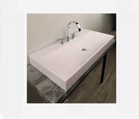 """5160 - 39 3/8""""  Lacava Elusiva Vessel Sink"""