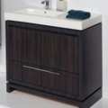"5457A 120x120 - 35.5"" Lacava Aquaquattro Vanity Base w/Sink-Avail in Multiple finishes"
