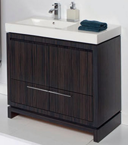"5457A - 35.5"" Lacava Aquaquattro Vanity Base w/Sink-Avail in Multiple finishes"