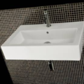 "54668 120x120 - 39 3/8"" Lacava Quadro Vanity Base Optional Sink-Avail in Multiple finishes"