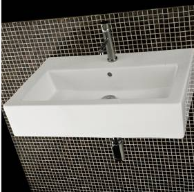 "54668 - 39 3/8"" Lacava Quadro Vanity Base Optional Sink-Avail in Multiple finishes"