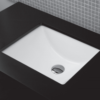 "5485 100x100 - 24"" Lacava Giulia  Wall Mount Vanity Base Optional Tops, sink-Avail in Multiple finishes"