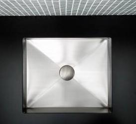 "740012a - 17""  Lacava Argento Stainless Undermount Sink"