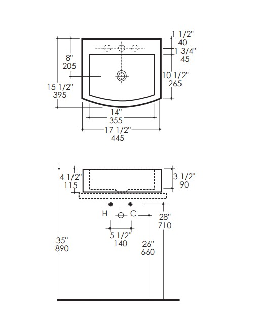 "7700s - 17.5""  Lacava Plaza Vessel Sink"