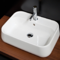 "8059 1 120x120 - 23.25""  Lacava Catino Wall Mount Sink"