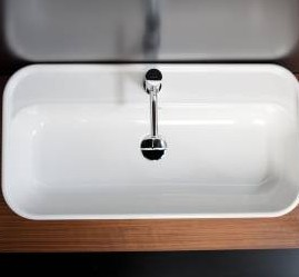 """8060a - 32""""  Lacava Catino Wall Mount/Vessel Sink"""