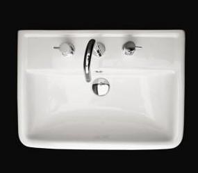 "AL024A - 23 5/8""  Lacava Alia Wall Mount Sink"