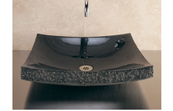 "BLL 1 600x387 - 18"" x 16""  Stone Forest Zen Stone Vessel Sink- Avail in 3 colors"