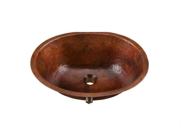 "BOU1915BC 600x448 - 19"" x 17.25"" Thompson Traders Black Copper Farley Sink"