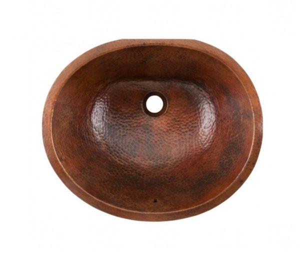 "BOU1915BCA 600x508 - 19"" x 17.25"" Thompson Traders Black Copper Farley Sink"