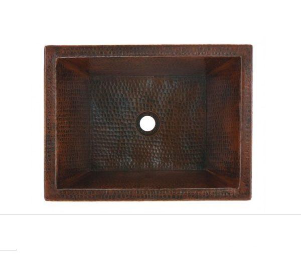 """BPV1914BCA 600x511 - 18"""" x 14"""" Thompson Traders Diego II Black Copper Sink"""