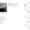 "C125S 100x100 - 22.5"" Stone Forest Akrotiri Vessel Sink"