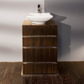 """DE102 120x120 - 23.5"""" Lacava La Scala Vanity Base-Optional sink-Avail in Multiple finishes"""
