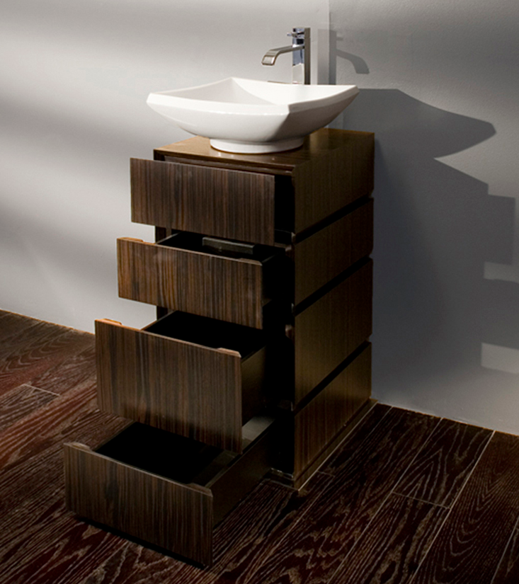 "DE103A - 18 1/8"" Lacava La Scala Vanity Base-Optional sink-Avail in Multiple finishes"