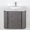 "GA131A 100x100 - 24"" Lacava Giulia  Wall Mount Vanity Base Optional Tops, sink-Avail in Multiple finishes"