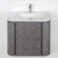 """GA131A 120x120 - 24"""" Lacava Giulia  Wall Mount Vanity Base Optional Tops, sink-Avail in Multiple finishes"""