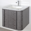 "GA131B 100x100 - 24"" Lacava Giulia  Wall Mount Vanity Base Optional Tops, sink-Avail in Multiple finishes"