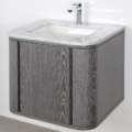 """GA131B 120x120 - 24"""" Lacava Giulia  Wall Mount Vanity Base Optional Tops, sink-Avail in Multiple finishes"""