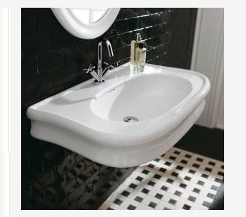 "H252 - 35.5""  Lacava Lirico Wall Mount Sink"