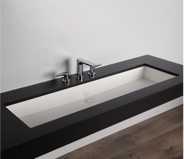 """H264UN 600x521 - 45""""  Lacava Kubista Undermount Sink H264UN"""