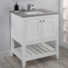 "H281 100x100 - 23.5"" Lacava Stile Vanity Base Optional Top & sink-Avail in Multiple finishes"