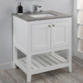 """H281 120x120 - 23.5"""" Lacava Stile Vanity Base Optional Top & sink-Avail in Multiple finishes"""