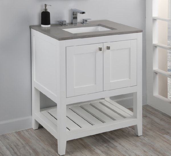 "H281 600x549 - 23.5"" Lacava Stile Vanity Base Optional Top & sink-Avail in Multiple finishes"