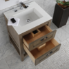 """H281BA 100x100 - 23.5"""" Lacava Stile-B Vanity Base Optional Top & sink-Avail in Multiple finishes"""