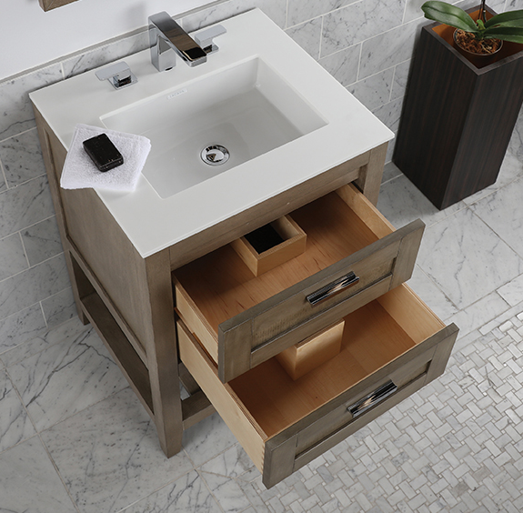 """H281BA - 23.5"""" Lacava Stile-B Vanity Base Optional Top & sink-Avail in Multiple finishes"""