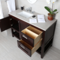 """H283LA 120x120 - 35.5"""" Lacava Stile Vanity Base Optional Tops & Sink -Avail in Multiple finishes"""