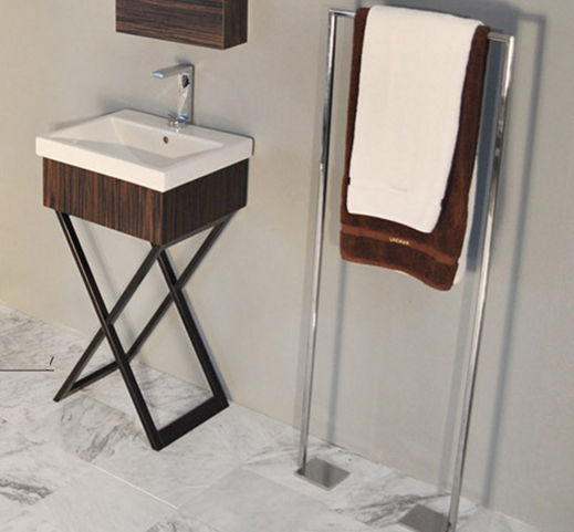 "M200A - 19 1/8"" Lacava Moda Vanity Base & Sink-Avail in Multiple finishes"