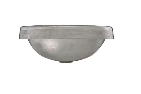 "MPA 600x400 - 15"" Thompson Traders Metropoli  Sink- Hammered Nickel"