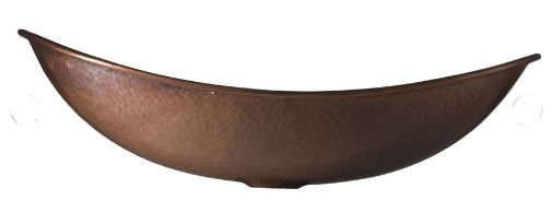 "NS25036b - 18.5"" x 12"" Thompson Traders Antique Copper Calder Sink"