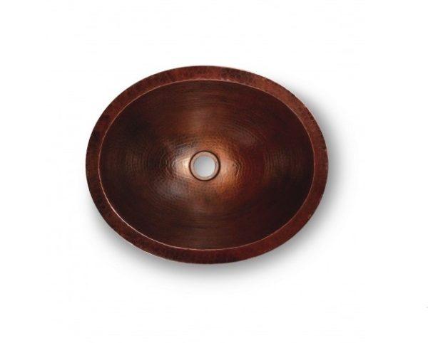 "PBCA 600x482 - 17"" x 14"" Thompson Traders Prana Sink-Black Copper"