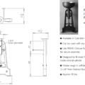 "PIINDPEDS 120x120 - 19"" Stone Forest Industrial Pedestal-Cast Iron"
