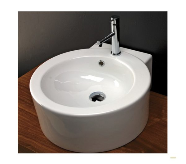 "SAT50 600x531 - 20"" Lacava Open Space Wall Mount Sink SAT50"