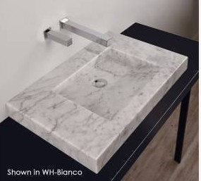 "ST001A - 27.5""  Lacava Stone Vessel Sink"
