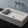 "c52lbo 120x120 - 26"" Stone Forest Milano Stone Vessel Sink- Avail in 3 colors"