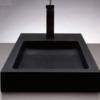 "c57a 100x100 - 28"" Stone Forest Bento Stone Vessel Sink"
