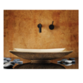 """cp09b 120x120 - 17"""" Stone Forest Bronze Zen Vessel Sink-Avail in 3 colors"""