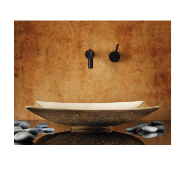 """cp09b 600x558 - 17"""" Stone Forest Bronze Zen Vessel Sink-Avail in 3 colors"""