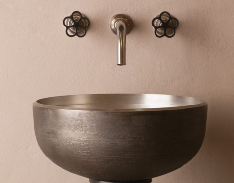 "cp20wb - 15"" Stone Forest Bronze Oro Vessel Sink-Avail in 2 colors"