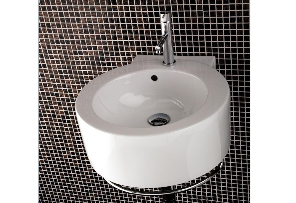 1975 Lacava Open Space Wall Mount Sink Optional Towel Bar