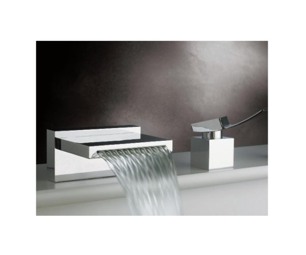 F2023 600x500 - Artos Quarto Waterfall Roman Tub set